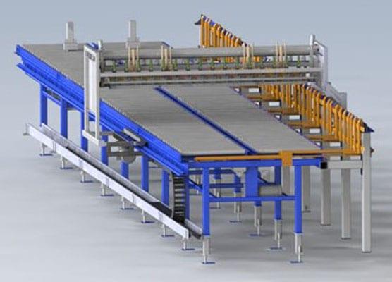 Conveyor belt system