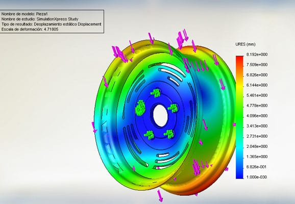 Finite Element Analysis FEA services
