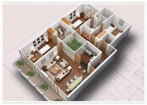 3d Floor Plan Design