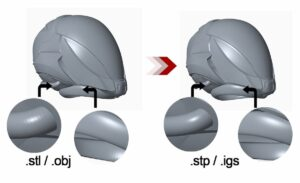 difference between IGES and STEP Files