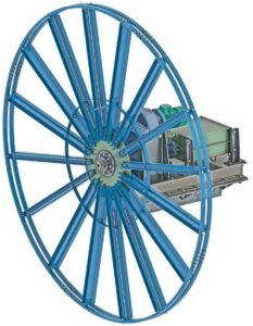 Cable reel - DRAWINGS