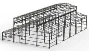 Industrial Structure Design Analysis PEB 1