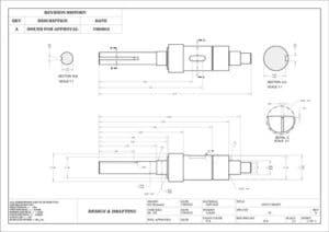 Mechanical 2D Drafting
