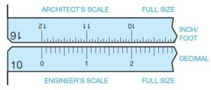 engineer's scale