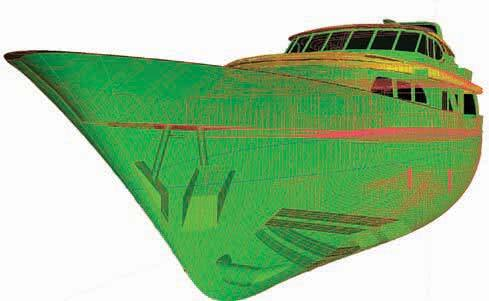BOAT AND SHIP HULL DESIGN 3D MODEL